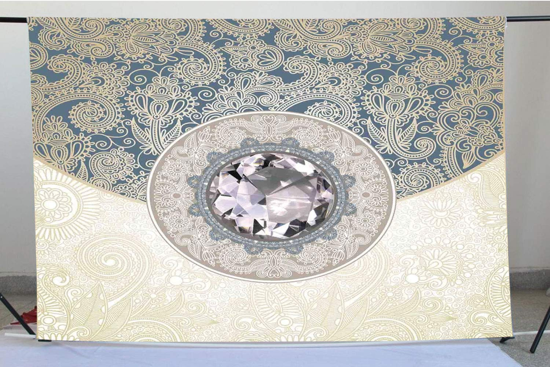 Amazoncom Diamond Decor Photography Backdrops Oriental Floral 1500x1000