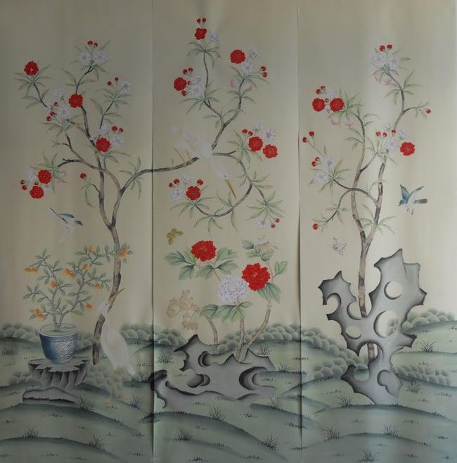 hand painted wallpaper silk wallpaper china wallpaper grace silk 650x658