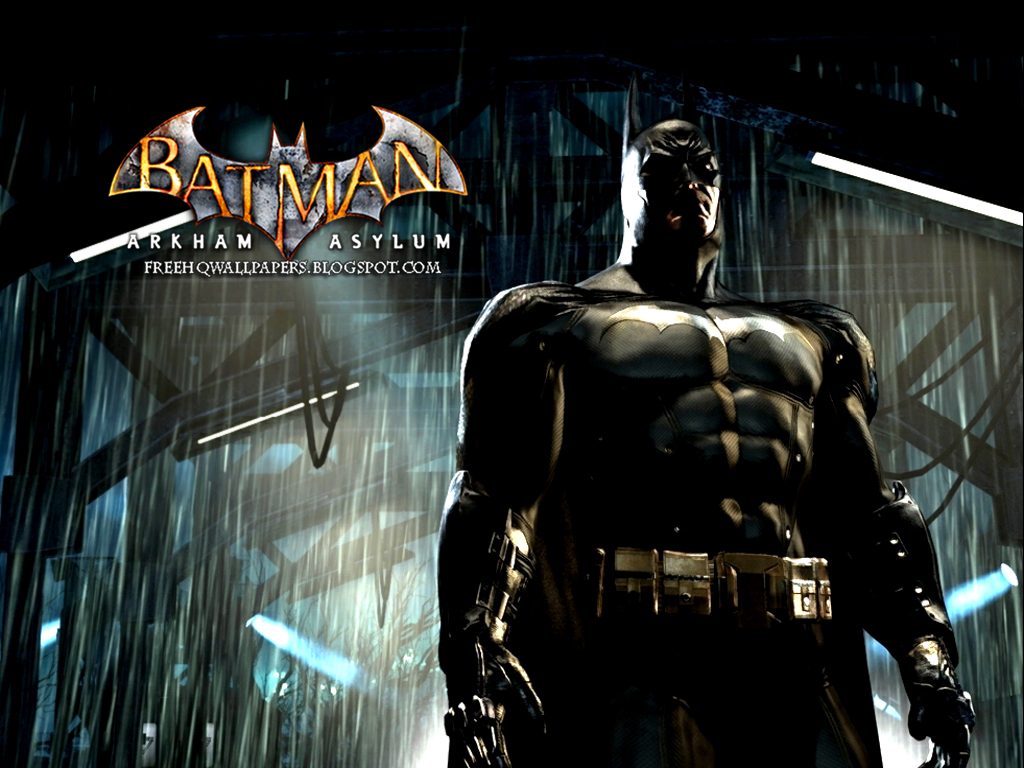 Batman Arkham Asylum HQ HQ Wallpapers 1024x768