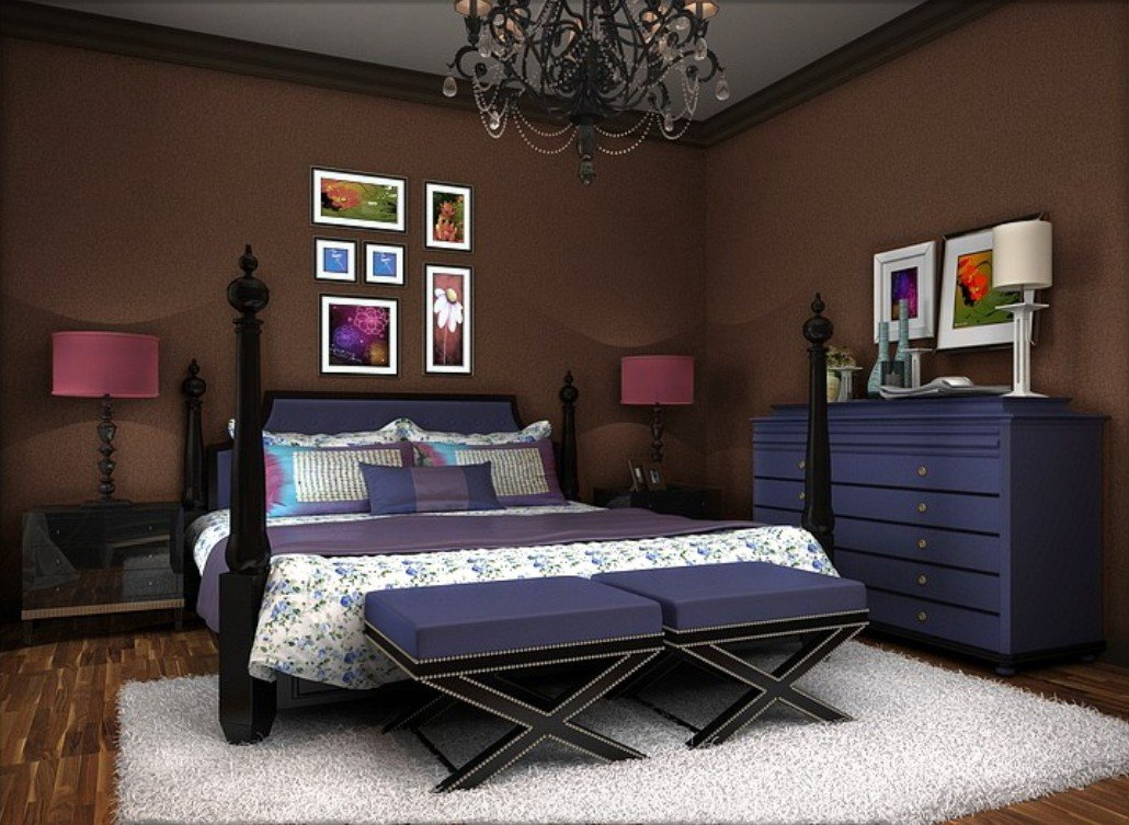 20140331new home rendering of yellow wallpaper with brown closet 1030x753