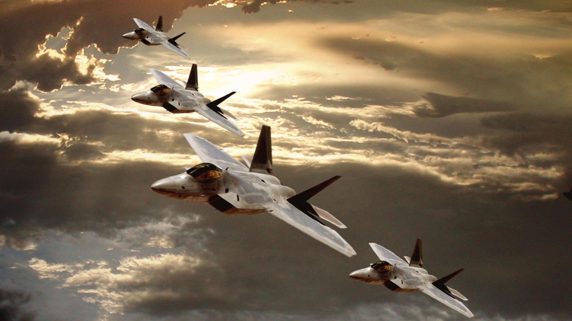 22 Raptor Aircraft Military aircraft wallpaper   1920x1080 wallpaper 1920x1080