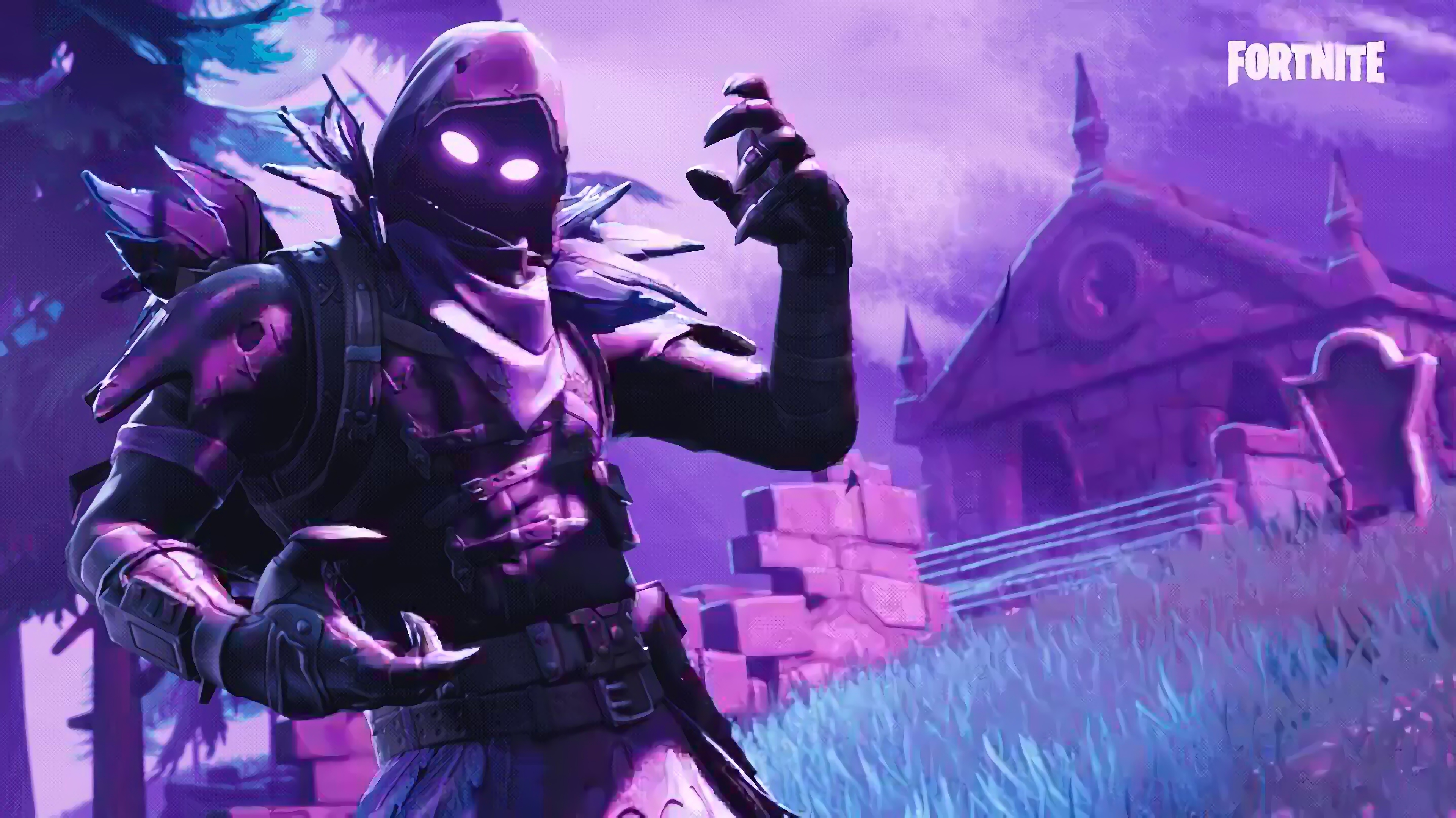 Fortnite Wallpaper HD 4K 8K   Battle Royale 3840x2160