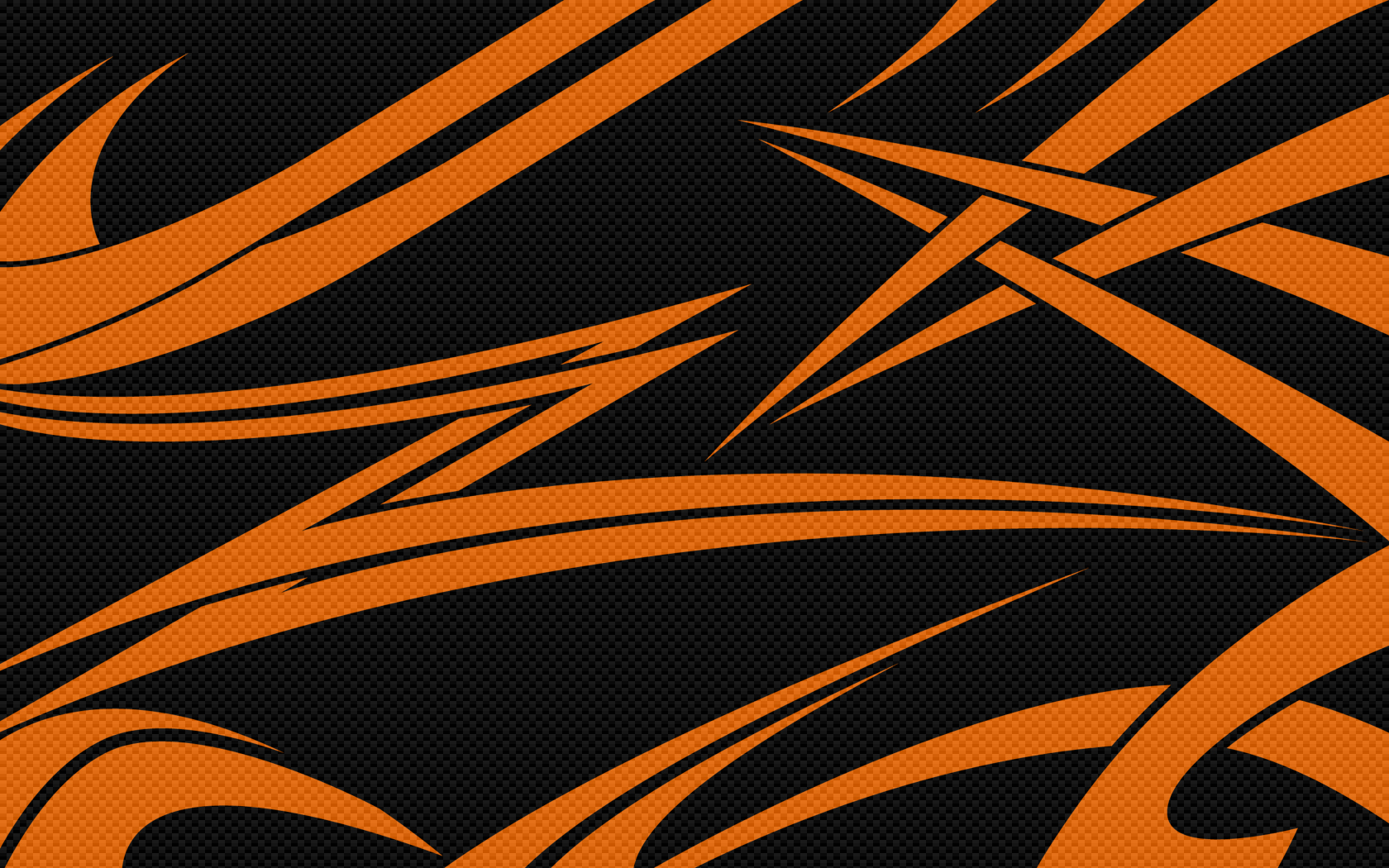 1680x1050 Black Orange Carbon desktop PC and Mac wallpaper 1680x1050