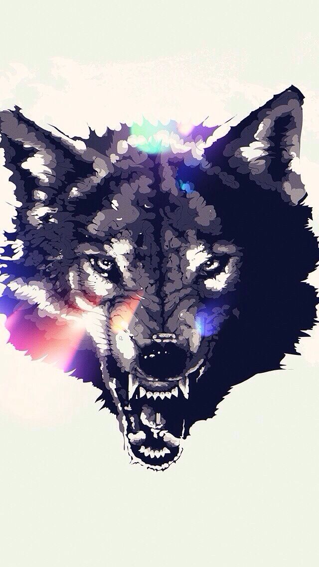 45 Wolf Wallpaper For Iphone On Wallpapersafari