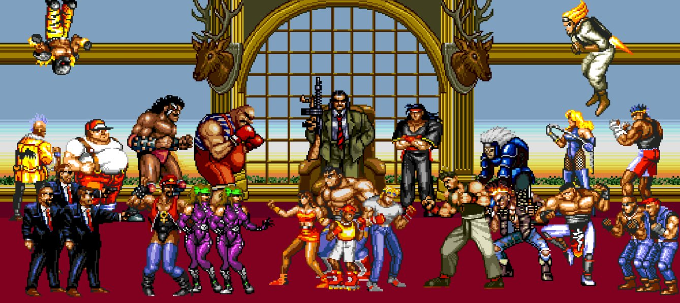 50 Streets Of Rage Wallpaper On Wallpapersafari
