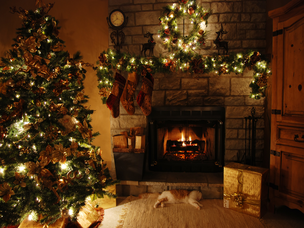 christmas 27669783 1024 7681 21 Stunningly Beautiful Christmas Desktop 1024x768