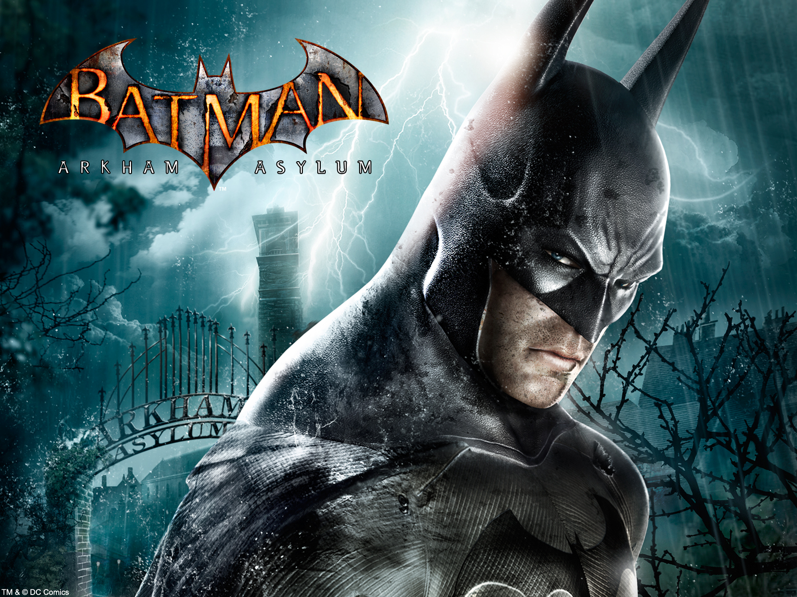 Batman Arkham Asylum desktop wallpaper 1600x1200