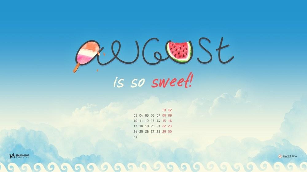 Download Smashing Magazine Desktop Wallpaper Calendar August 2015 1000x562