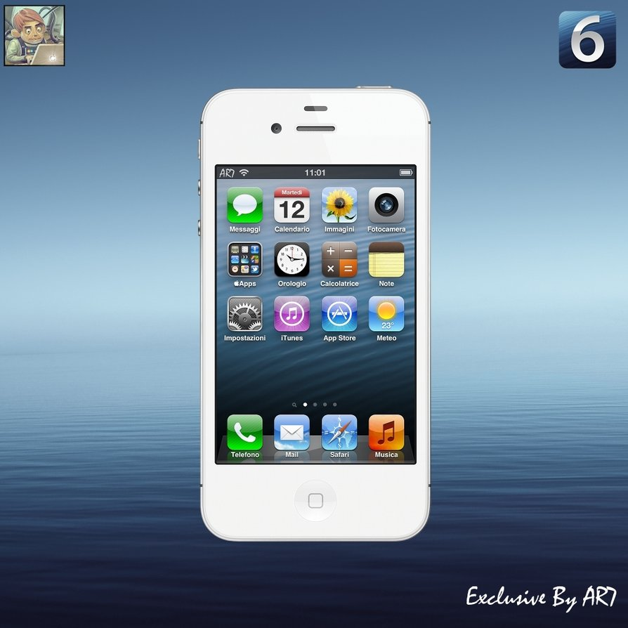 Free download iOS 6 Default Wallpaper by iAR7 [894x894] for