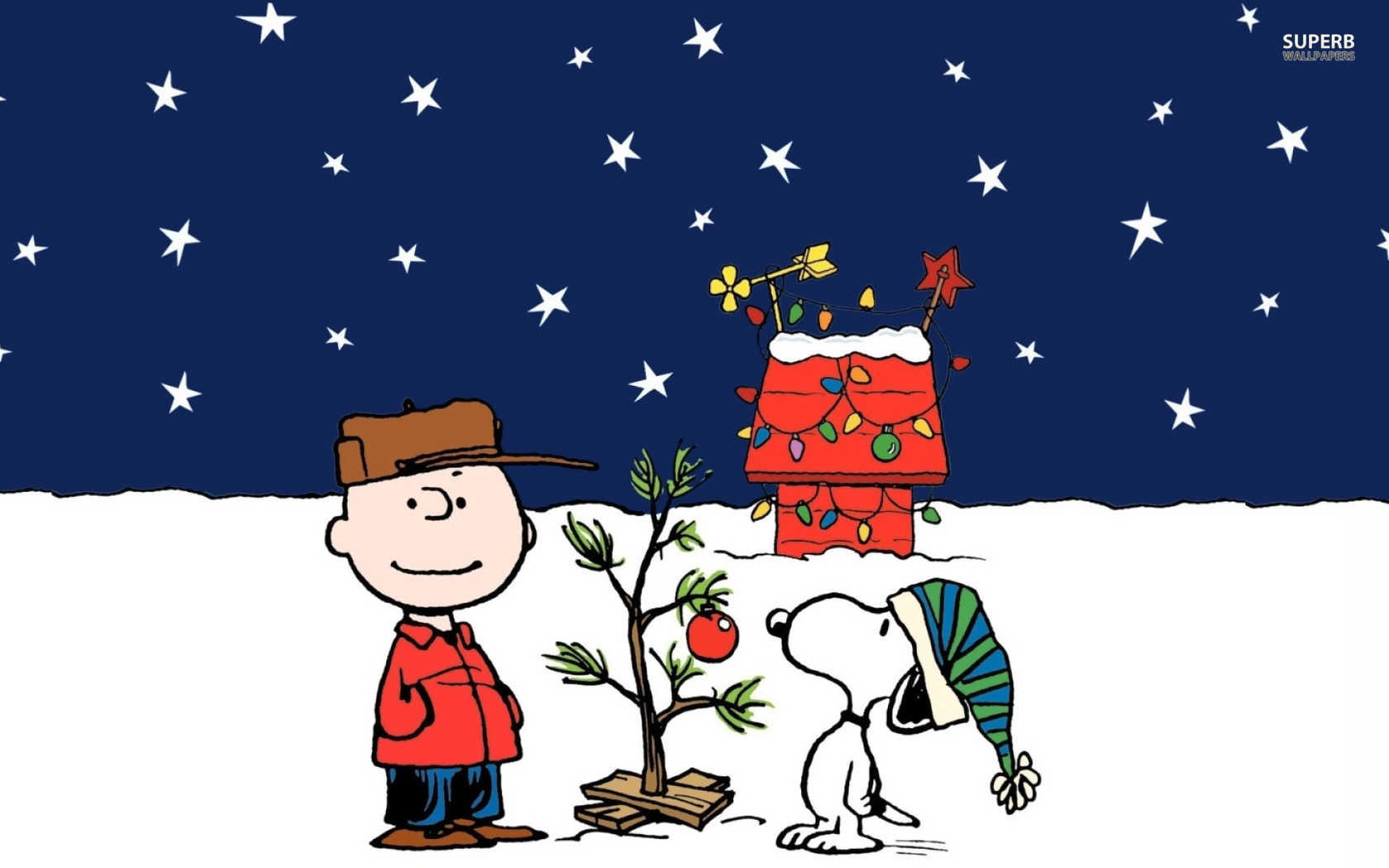 Linus Charlie Brown Christmas A charlie brown christmas 1680x1050