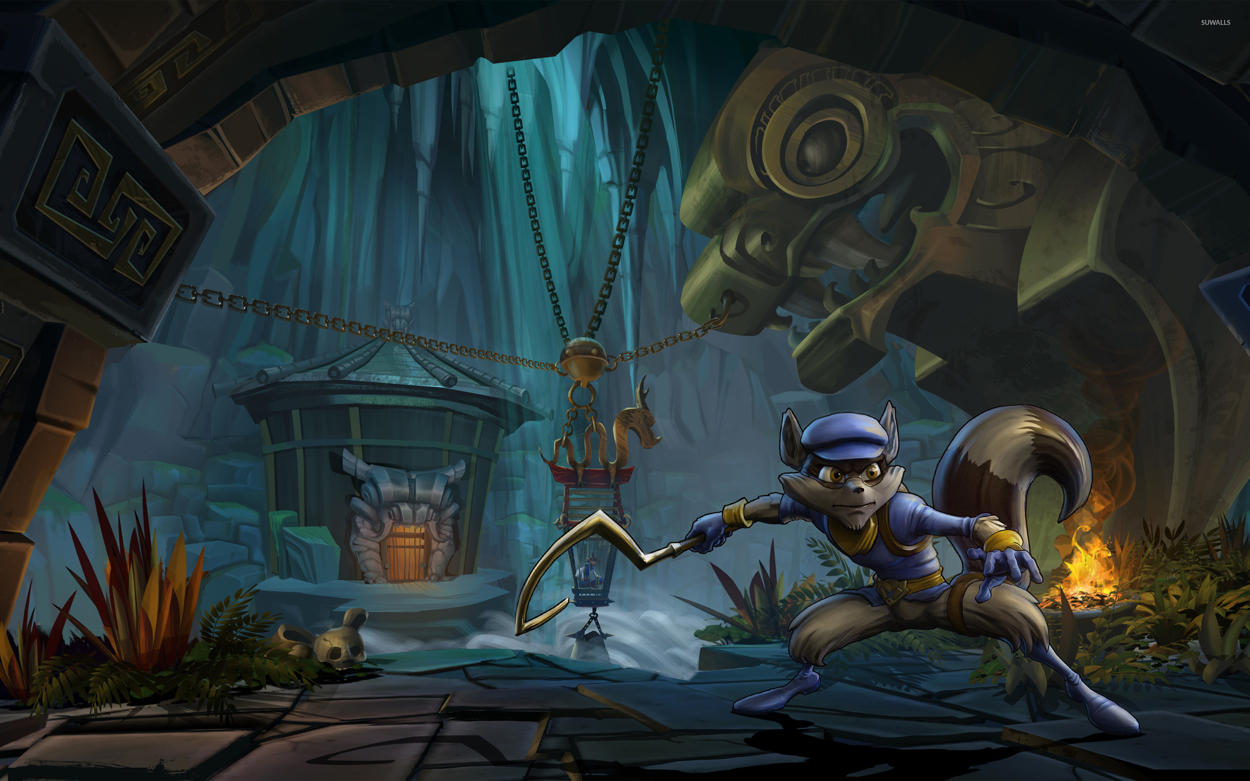 Sly Cooper Thieves in Time [2] wallpaper   Game 2560x1600