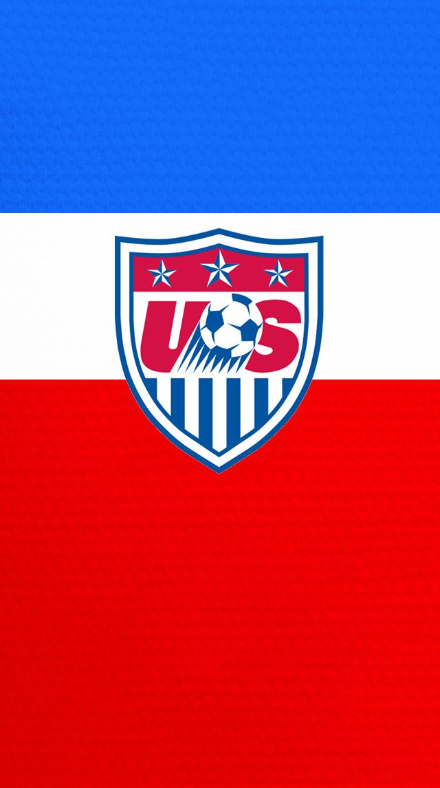 Usa Soccer Logo Wallpaper Us centennial 640x1146
