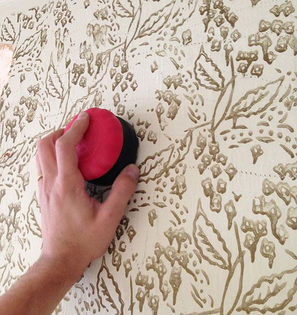 How to remove old walpaper Home Sweet Home Pinterest 600x637
