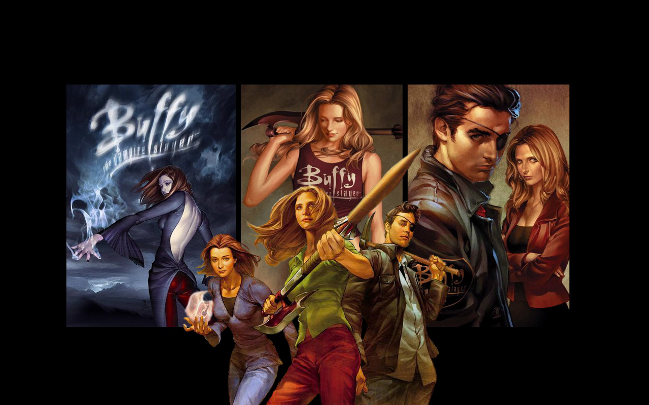 Free Download Buffy The Vampire Slayer Altered Artwork The Art Of
