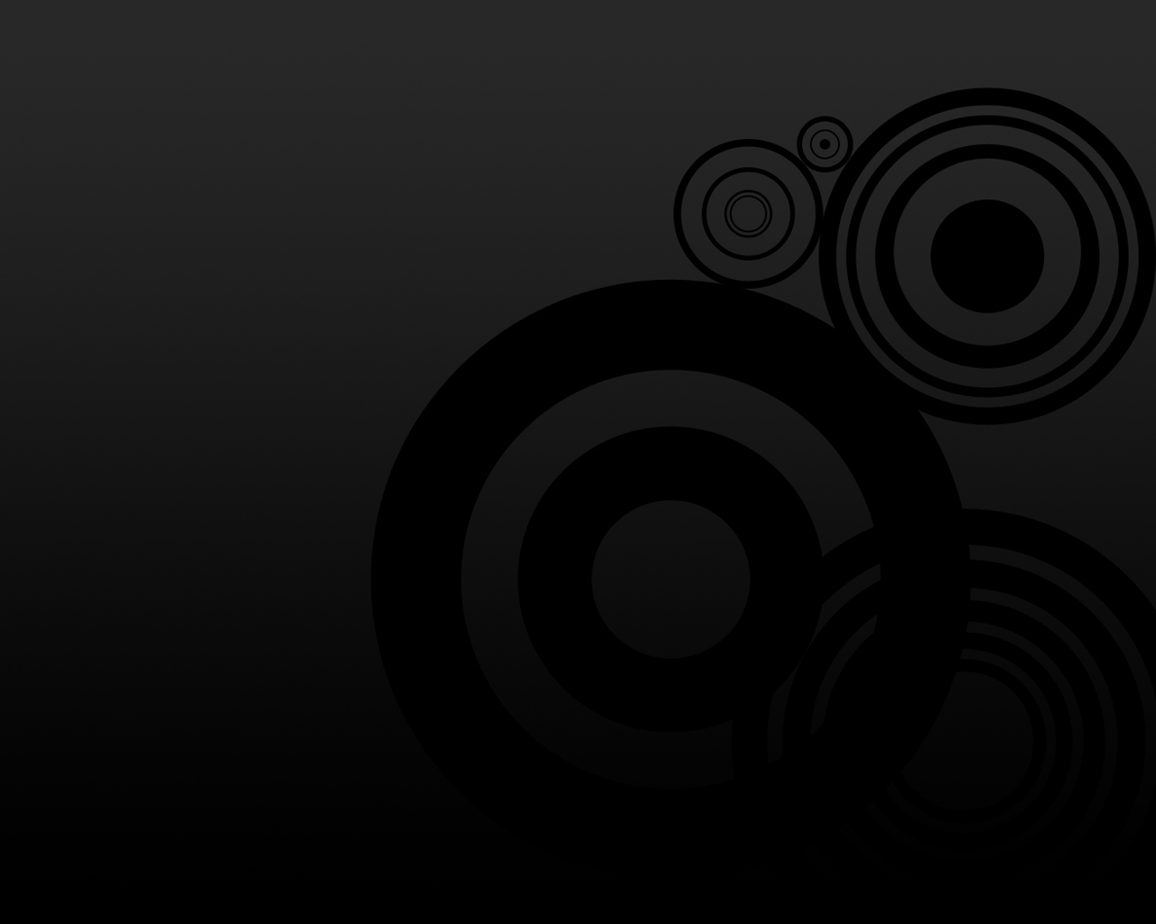 blackhdwallpaperBlack Circles Wallpaper black 26900972 1280 1024 1280x1024