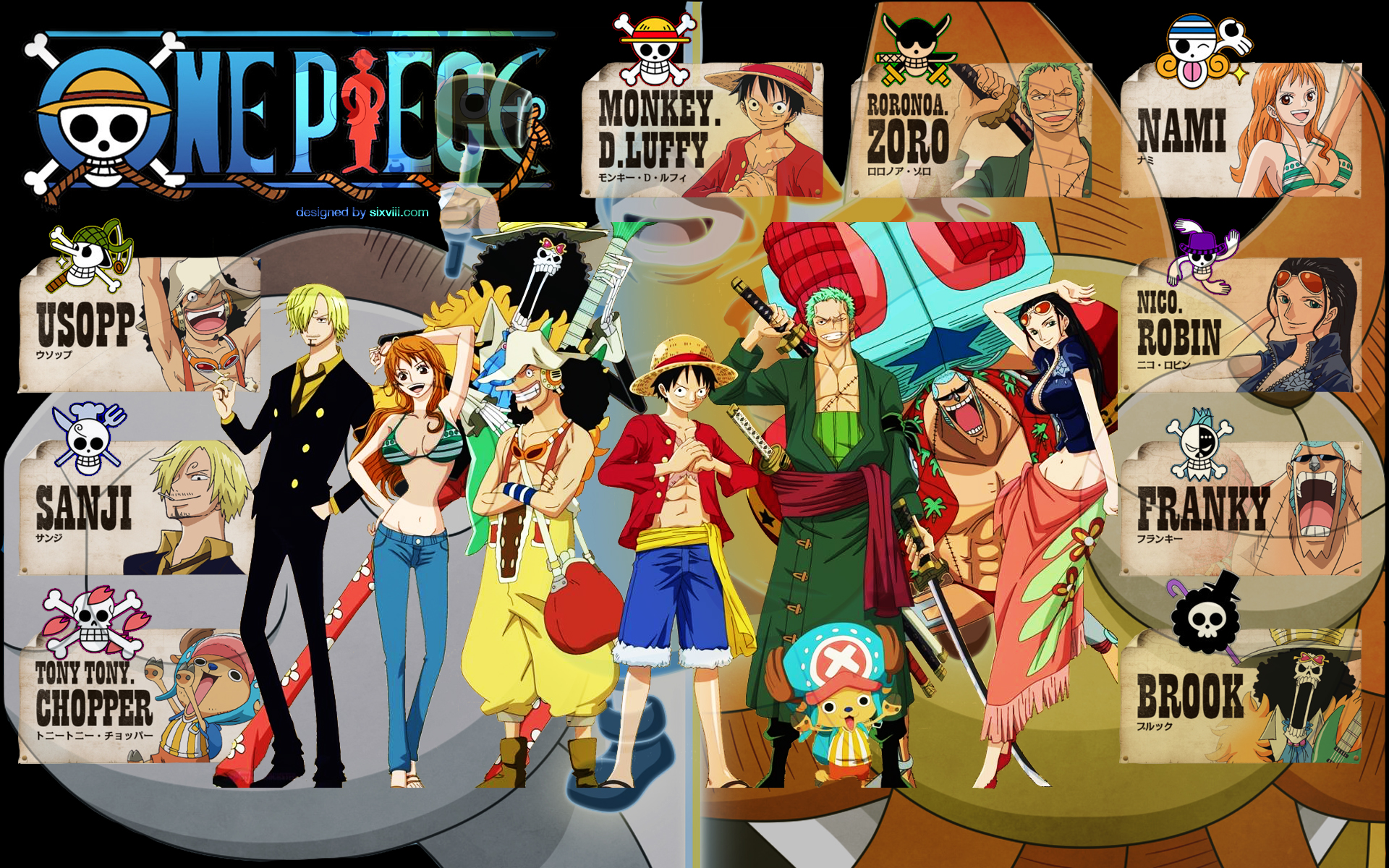 Free Download One Piece Crew New World Wallpaper 1920x1200 One