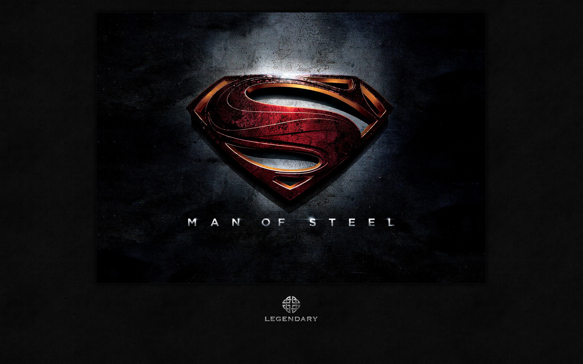 SUPERMAN Movie Logo MAN OF STEEL For Your Wallpaper Ramas Screen 1920x1200
