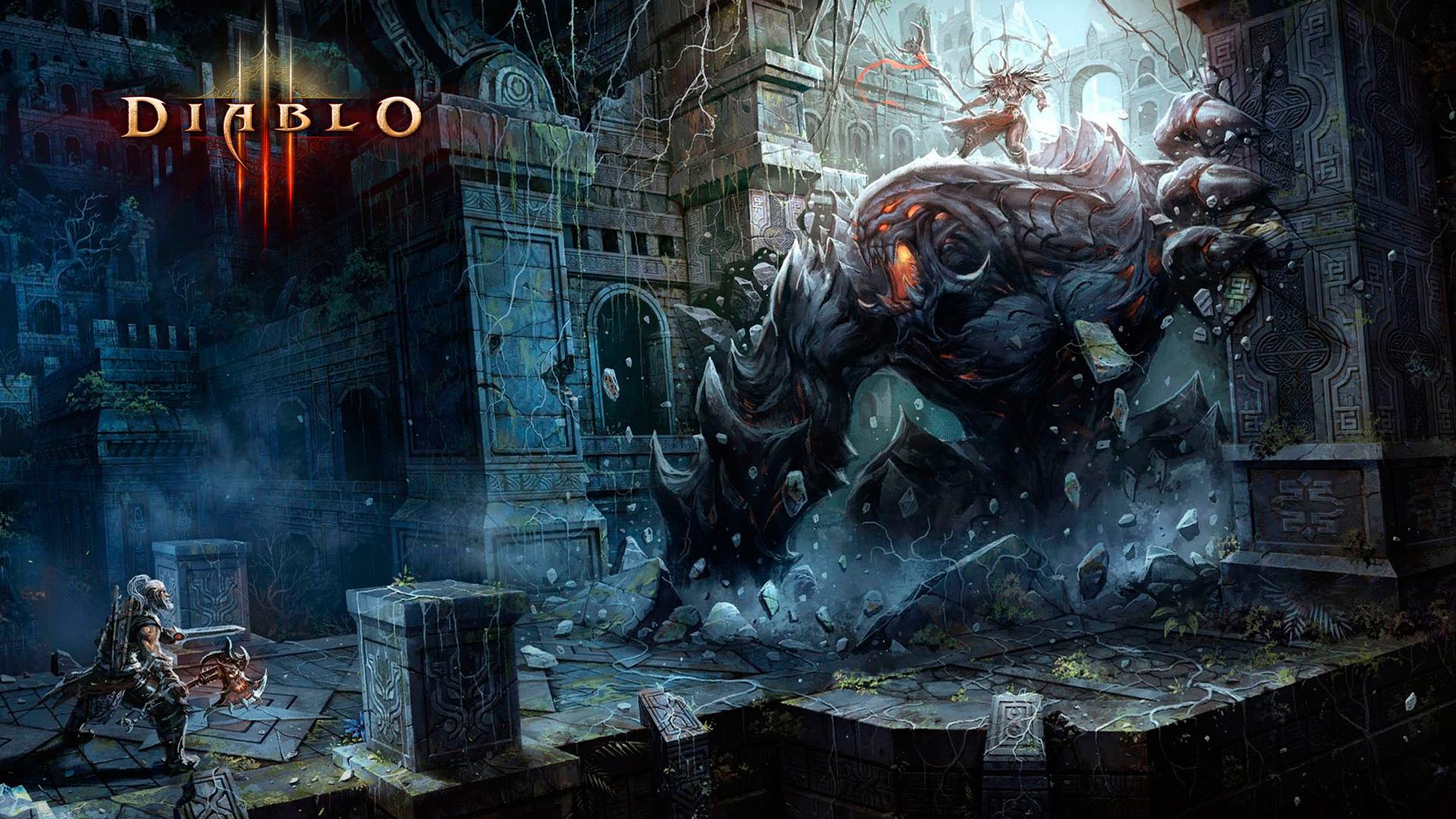 Diablo 3 Wallpaper 1920x1080: Diablo 3 Wallpaper 1920x1080