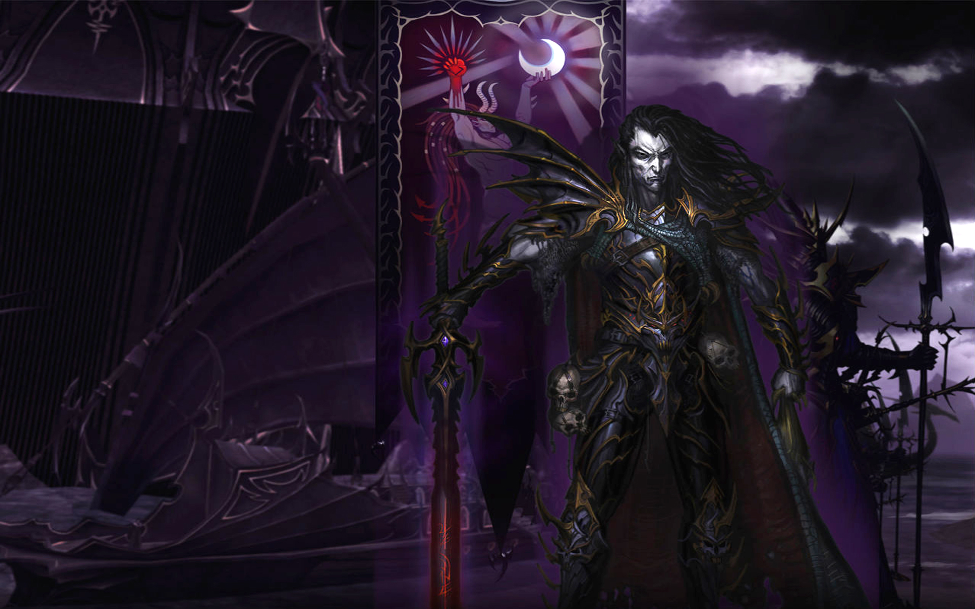 Dark Elf Prince Full HD Wallpaper and Background 1920x1200