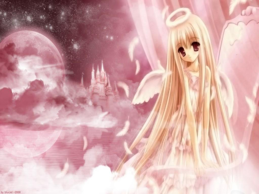 Download the Death Note anime wallpaper titled DN Angel 1024x768
