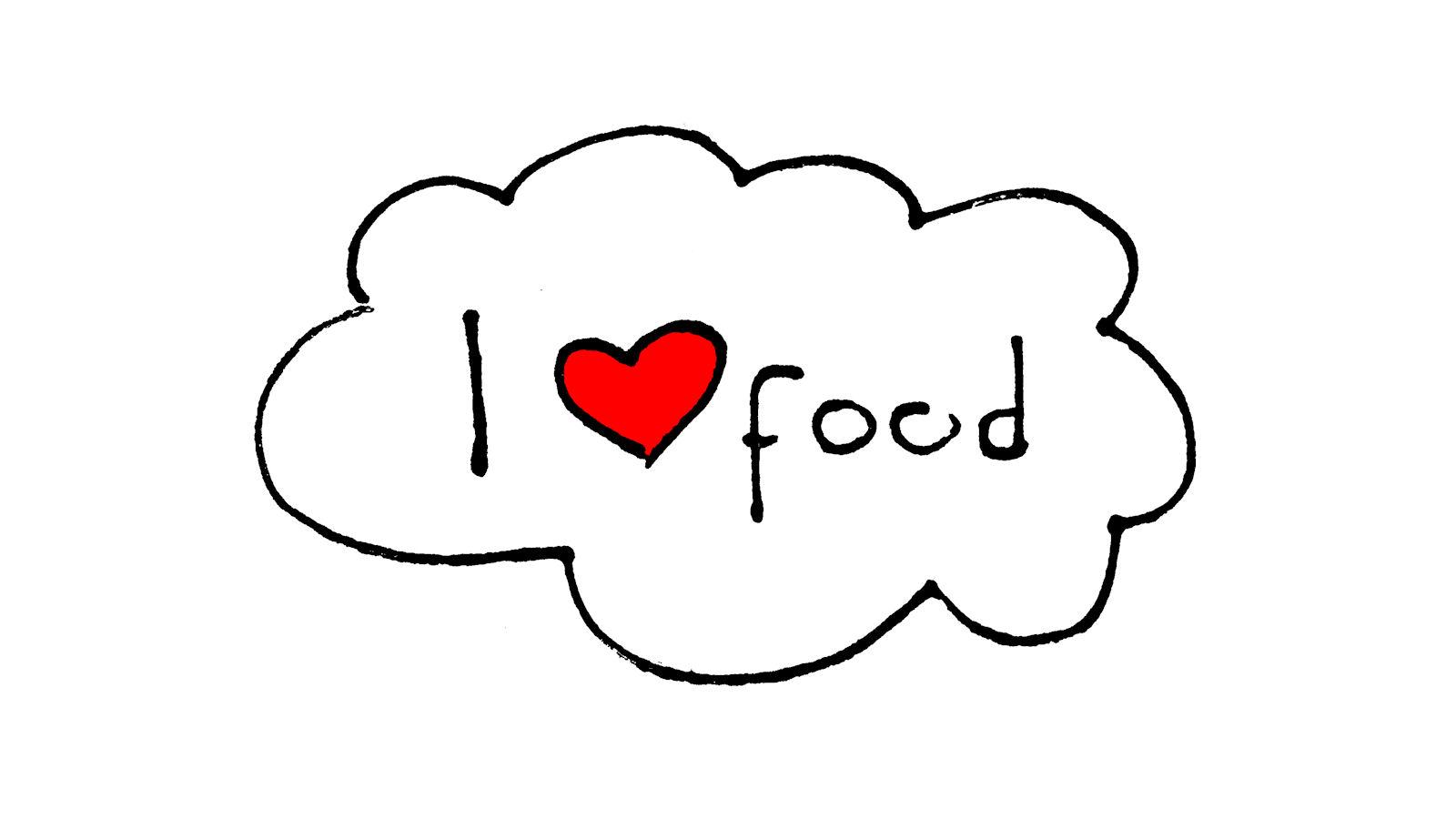 I love food Ik hou van lekker eten 1600x900