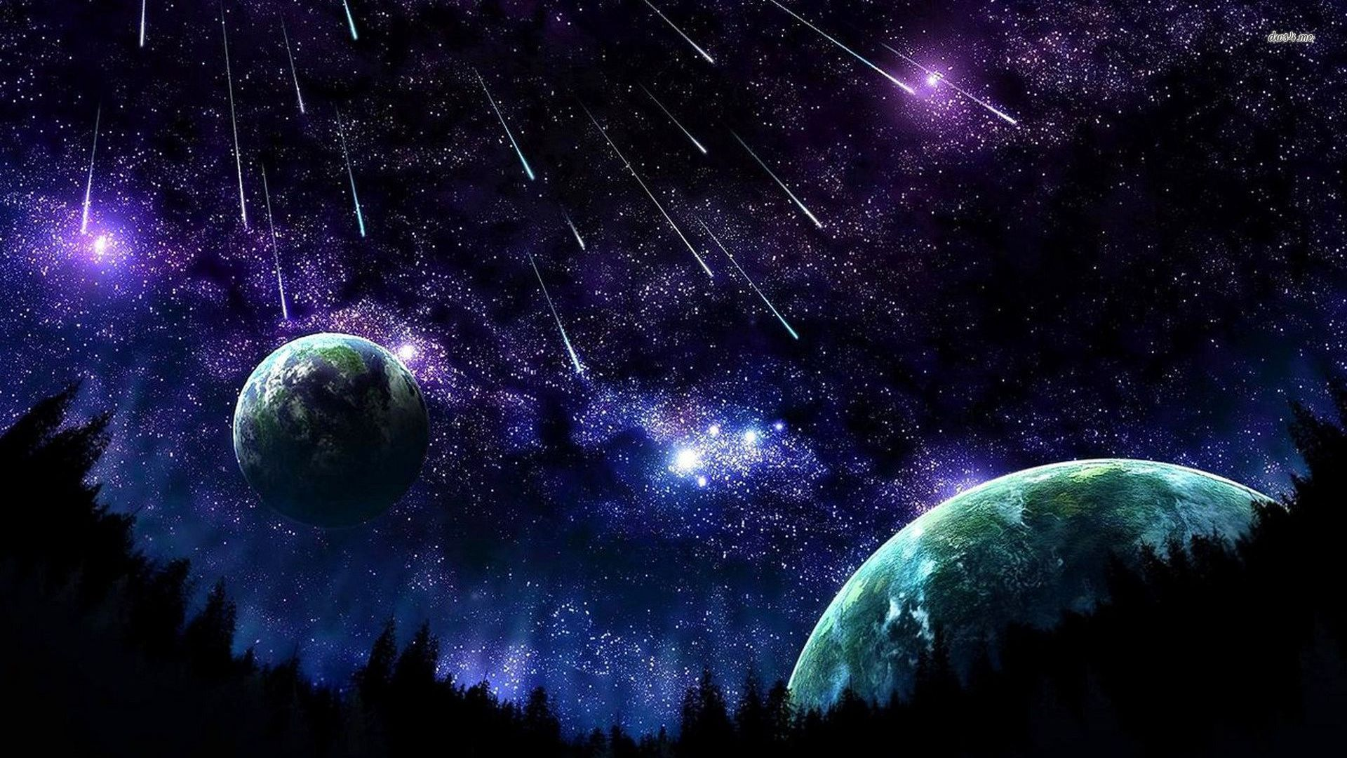 Gallery 13 Beautiful Night Sky Wallpaper Collections 1920x1080