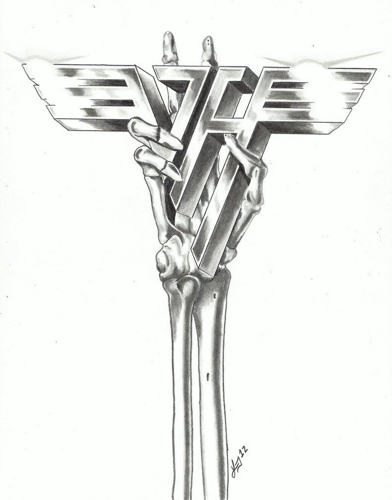 Free Van Halen Logo Wallpapers Wallpapersafari