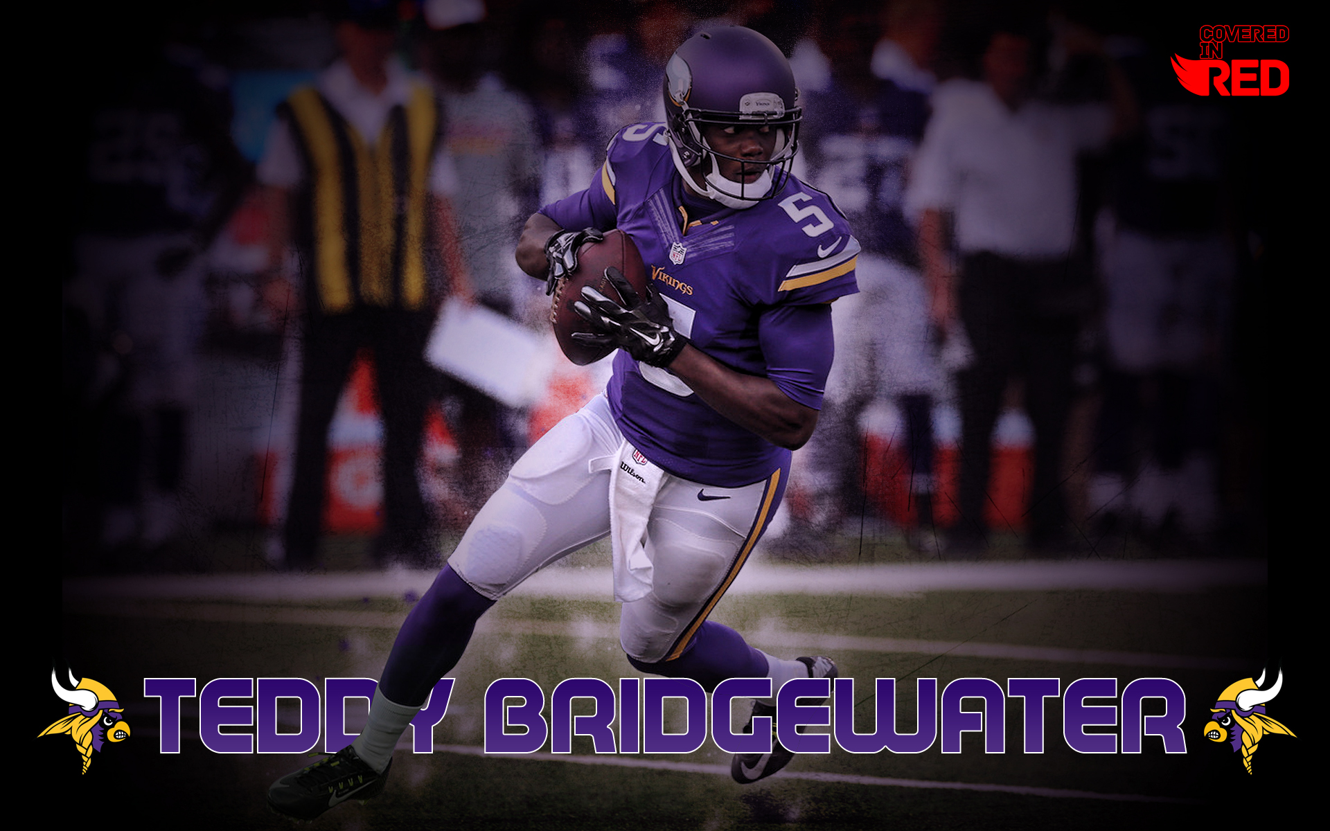 Teddy Bridgewater Vikings Wallpaper