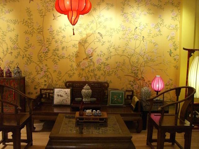 silk wallpaper   Asian   Wallpaper   by JAMEITE Hand painted Silk 640x480