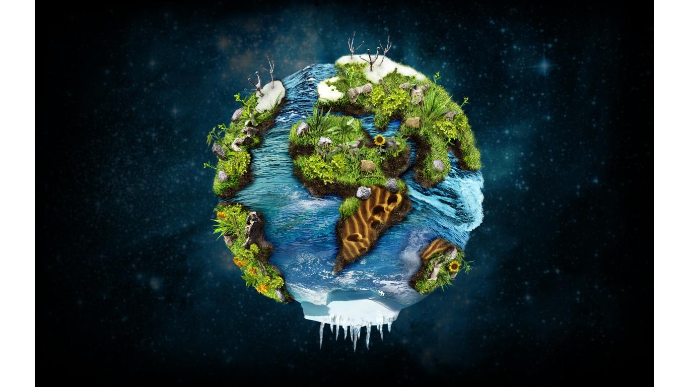 3D Earth Animated Wallpaper - WallpaperSafari