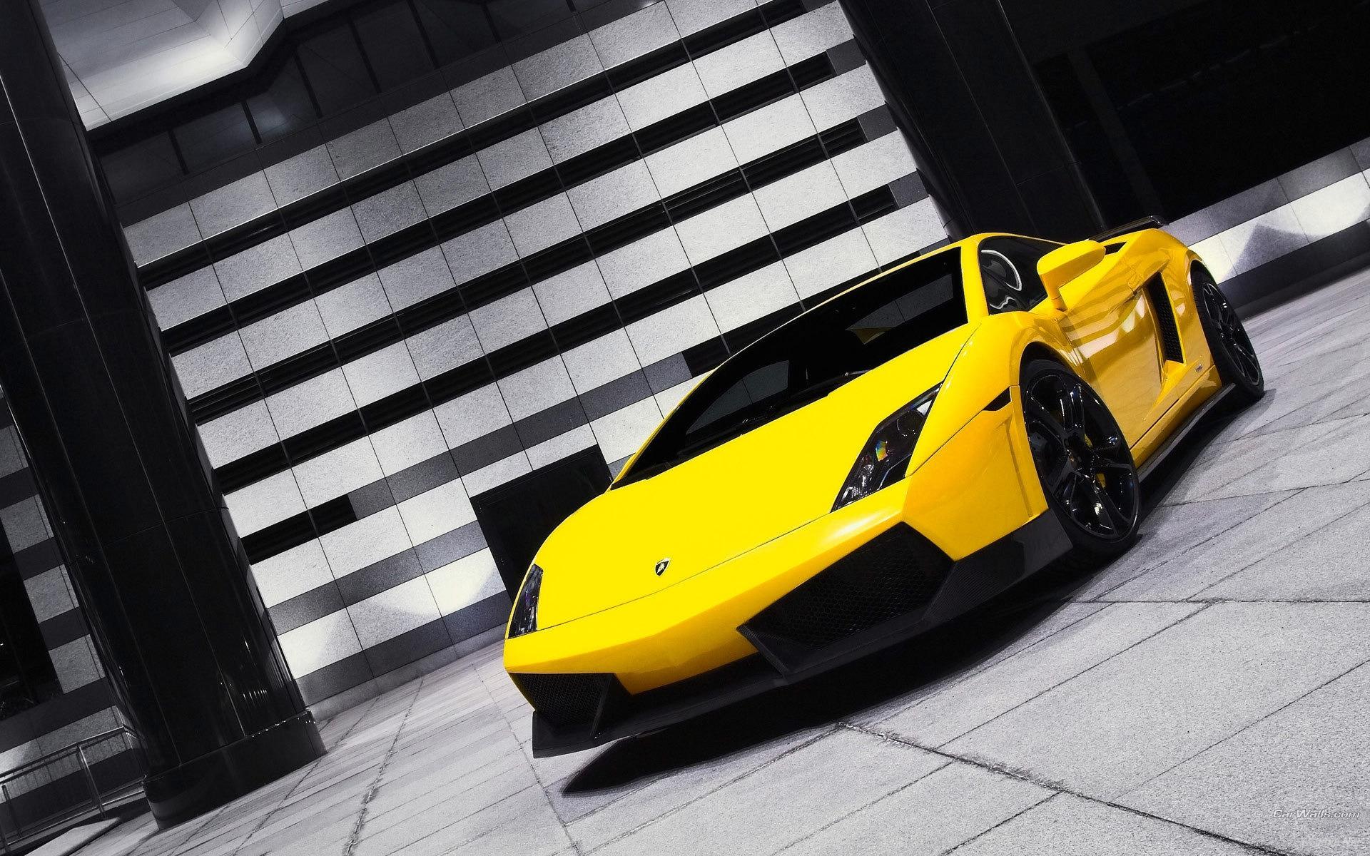 Lamborghini Gallardo screensaver HD Desktop Wallpaper 1920x1200