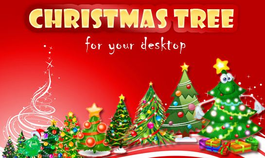 desktop christmas trees collection is a pack of animated christmas 545x326