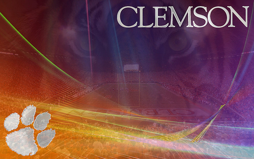 clemson tigers desktop wallpaper wallpapersafari