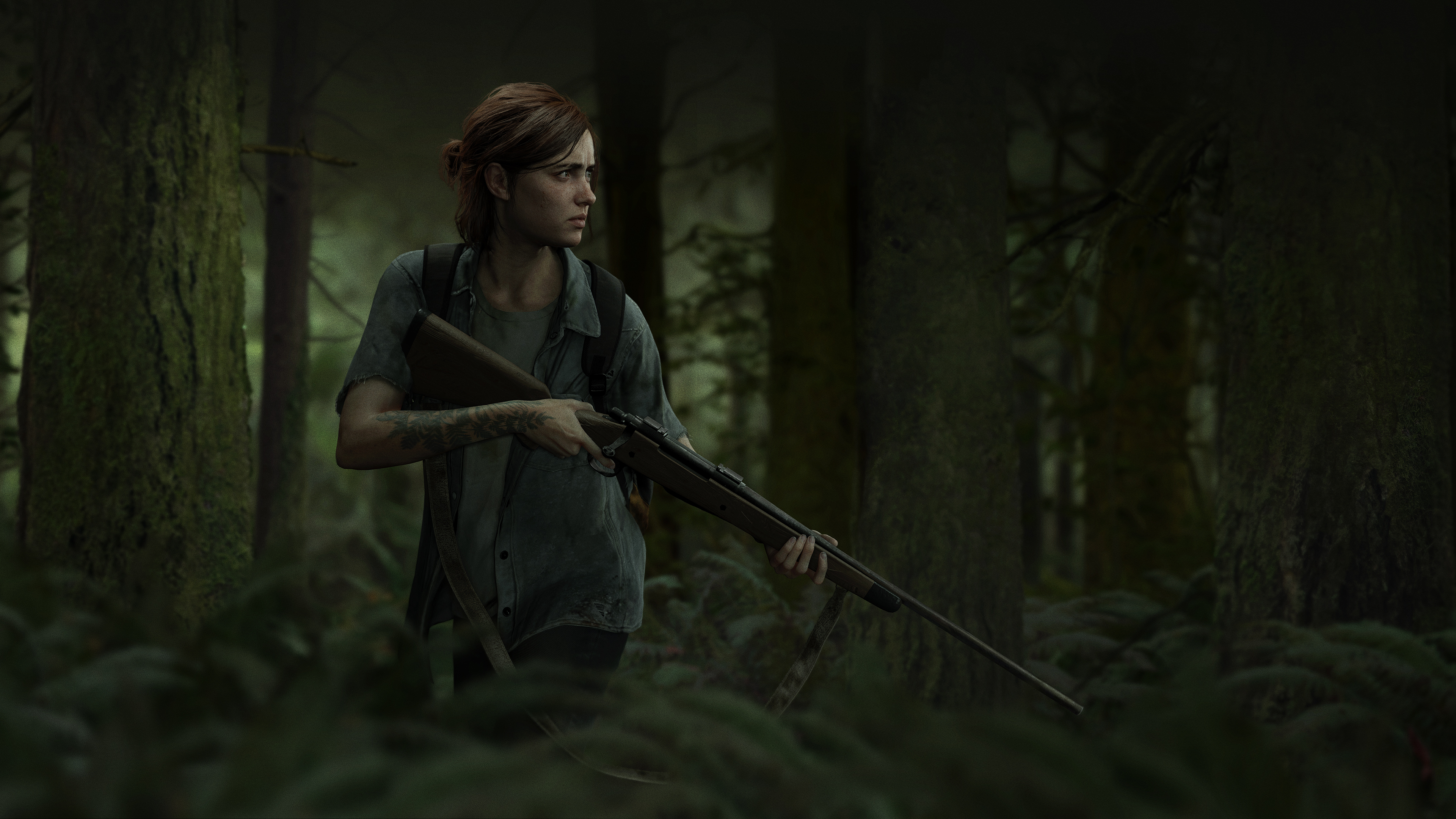 The Last of Us Part II   Ellie Outbreak Day 2018 4k Ultra HD 3840x2160
