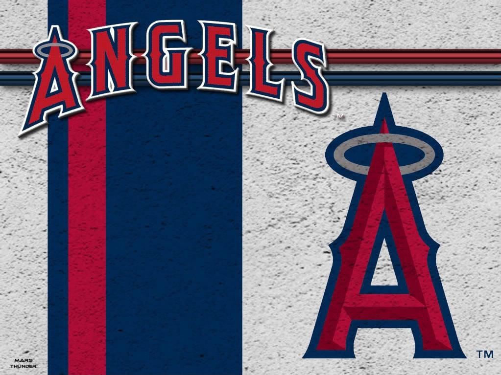 Los Angeles Angels MLB Wallpaper Background Theme Desktop 1023x767