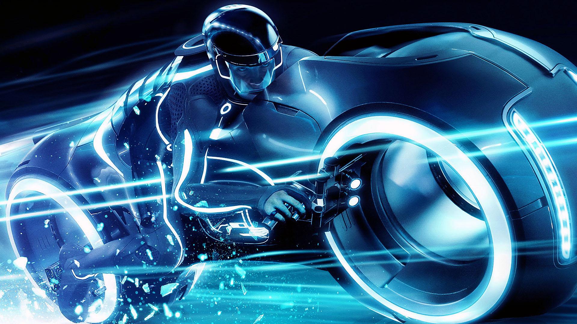Bike Race Wallpapers Tron Bike Race Myspace Backgrounds Tron Bike 1920x1080