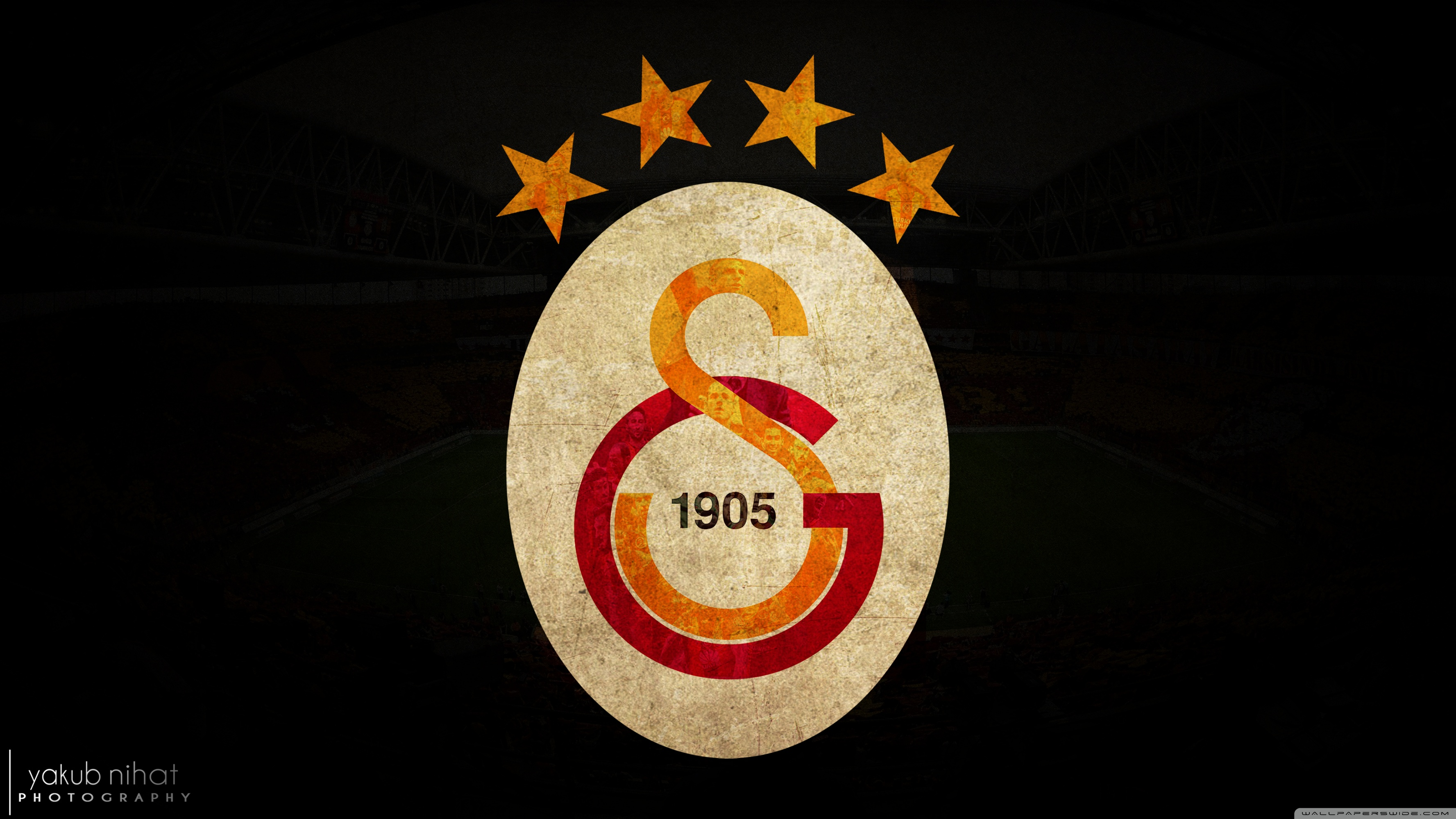 Galatasaray 2015 4K by Yakub Nihat 4K HD Desktop Wallpaper for 3554x1999