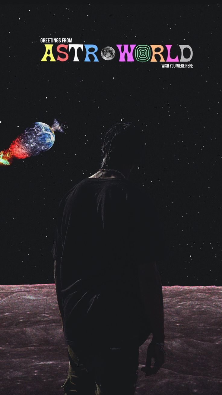 Iphone Wallpapers   Astroworld Travis Scott iPhone Wallpaper 736x1310