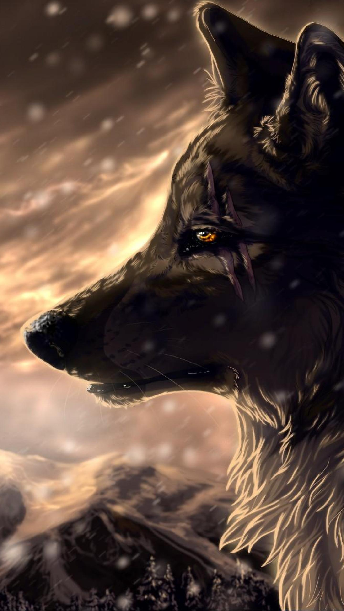 Anime wolf wallpaper wallpapersafari - Anime wolf wallpaper ...