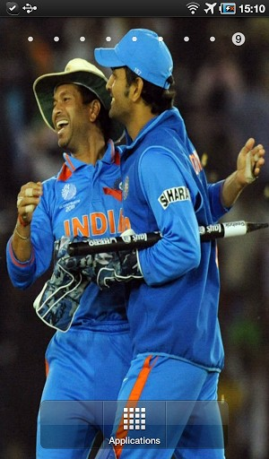 Indian Cricket Live Wallpaper This app contains various images of 300x512