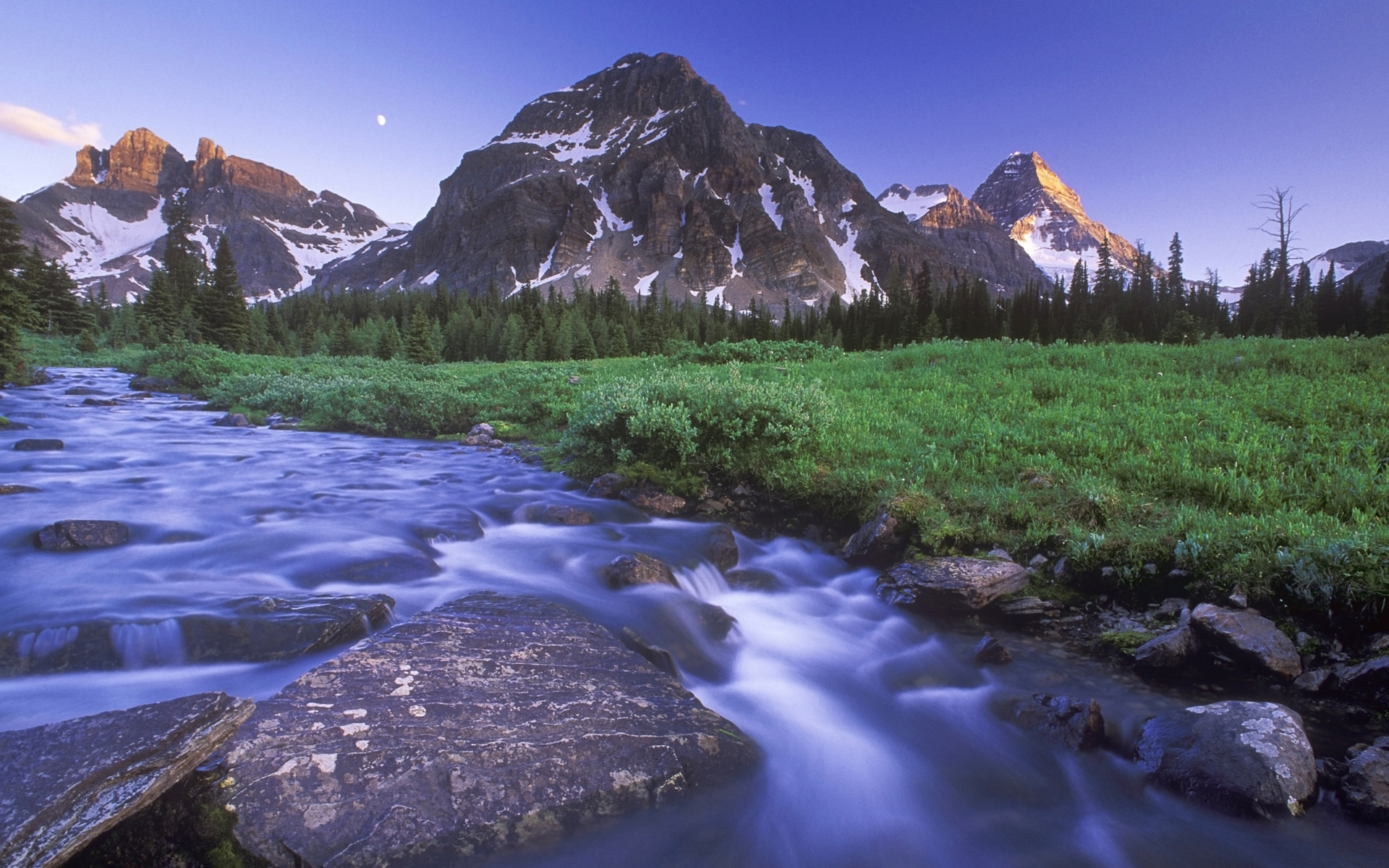 Magog Creek and Naiset Point Mount Assiniboine Provincial ParkAnse 1920x1200