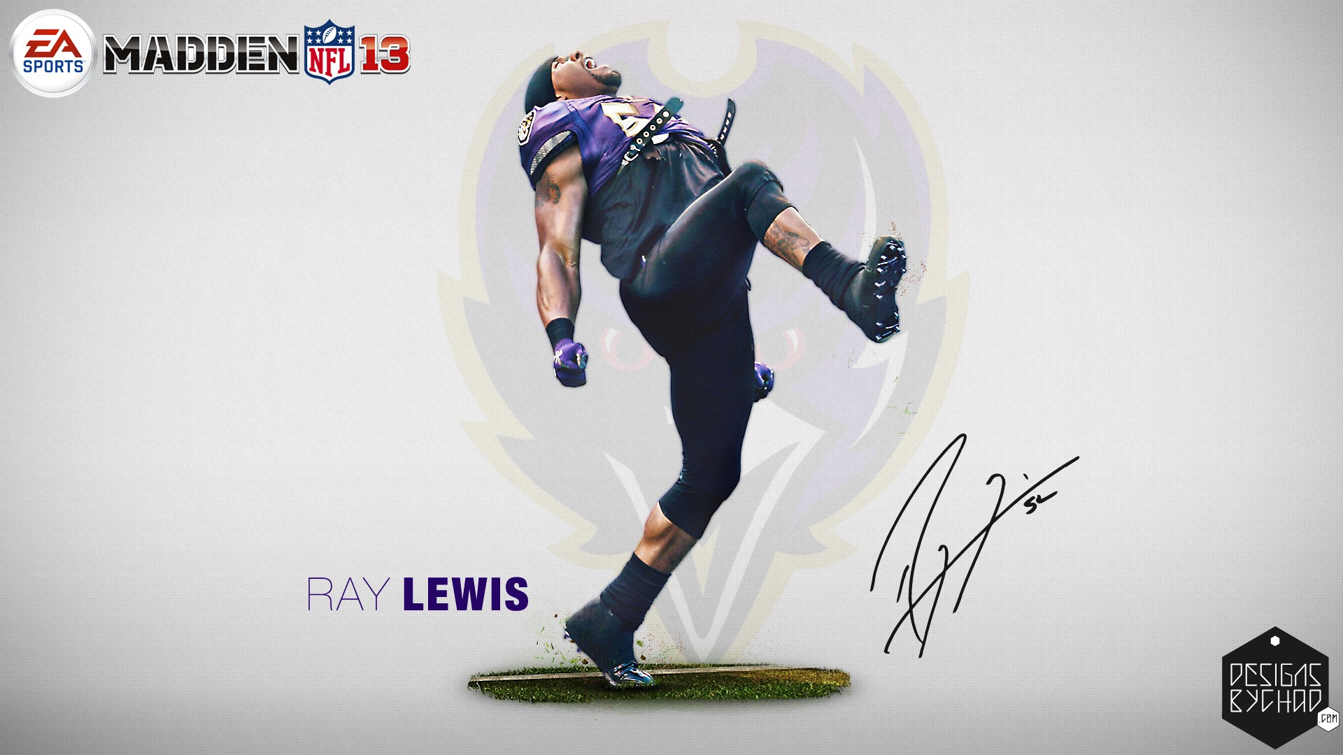 Ray Lewis Baltimore Ravens HD Wallpaper HD Wallpapers Source 1920x1080