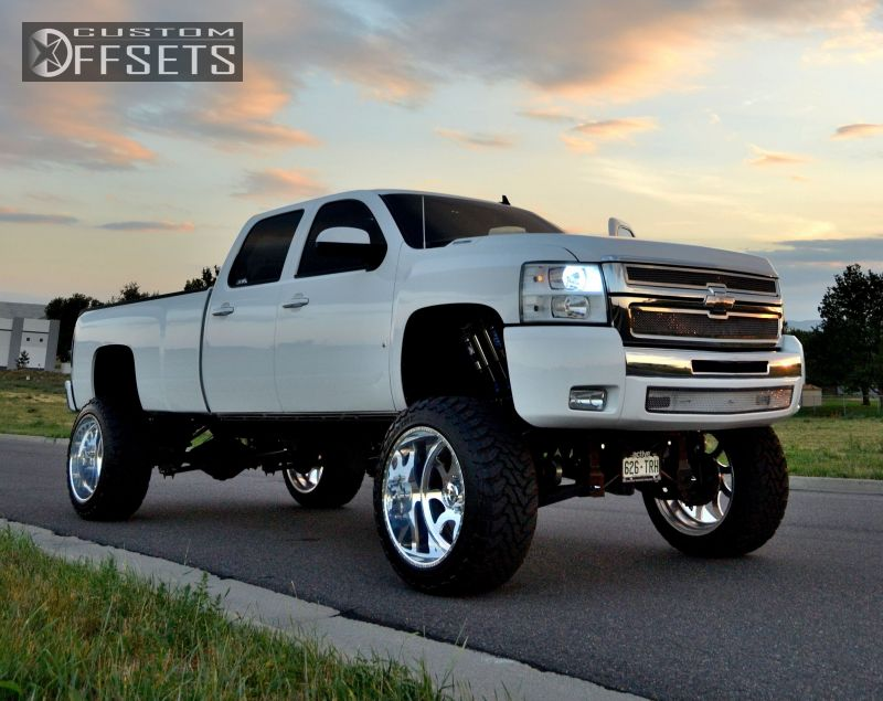 Chevy Truck Lifted Wallpaper Wheel offset 2008 chevrolet 800x635