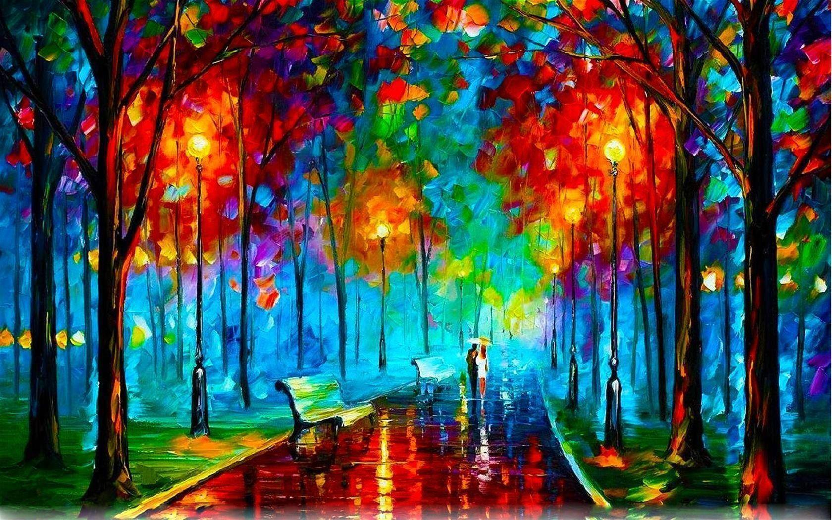 Leonid Afremov Wallpapers 1680x1050