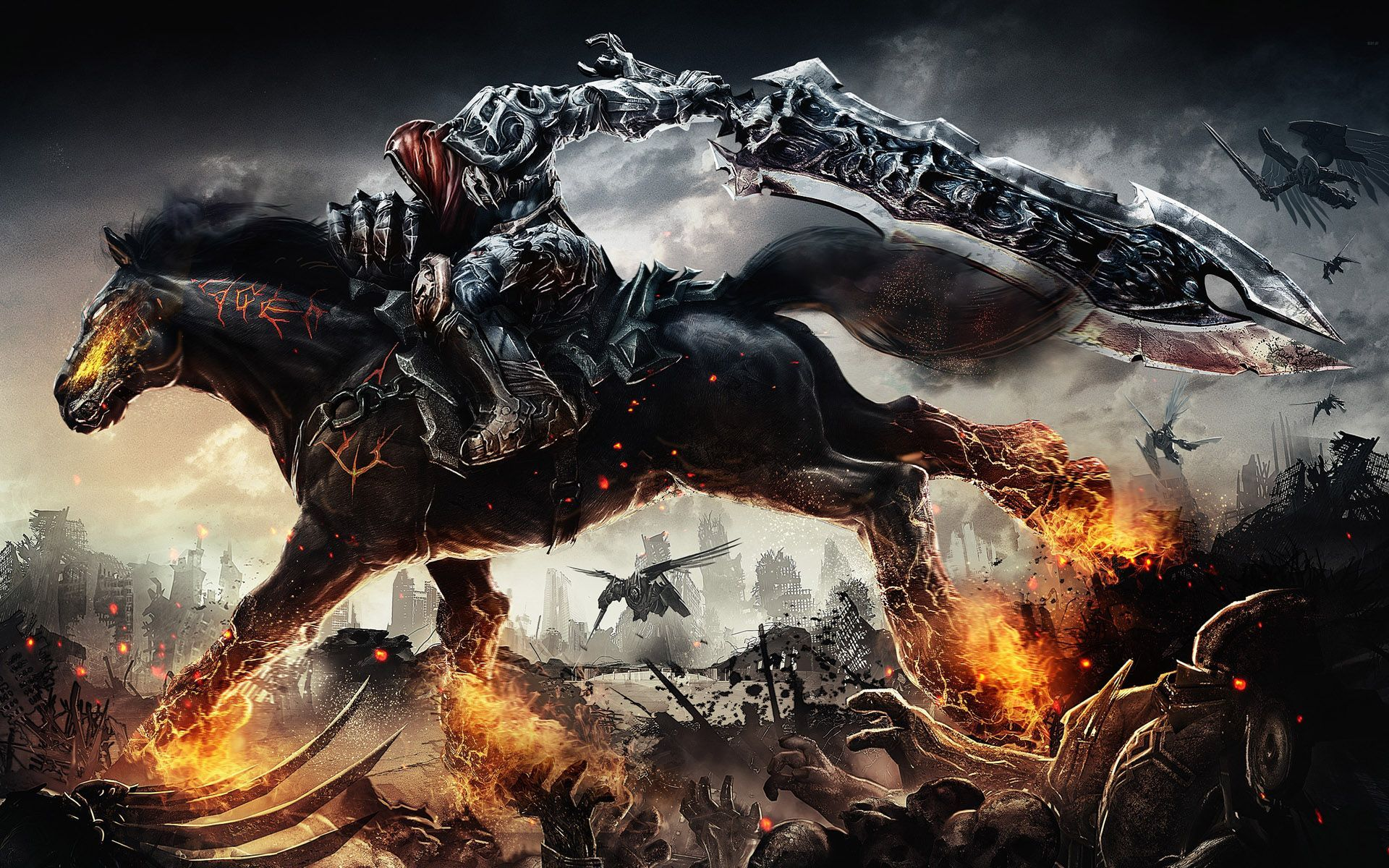 Pics Photos   Darksiders Wallpaper 1920x1200