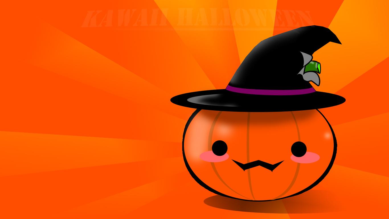 Cute Halloween HD Wallpapers 1366x768