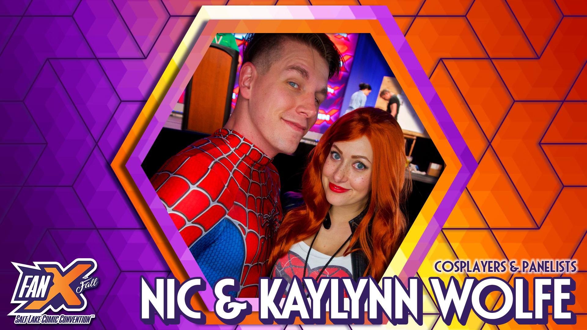 Nic Kaylynn Wolfe FanX Salt Lake Comic Convention 1920x1080