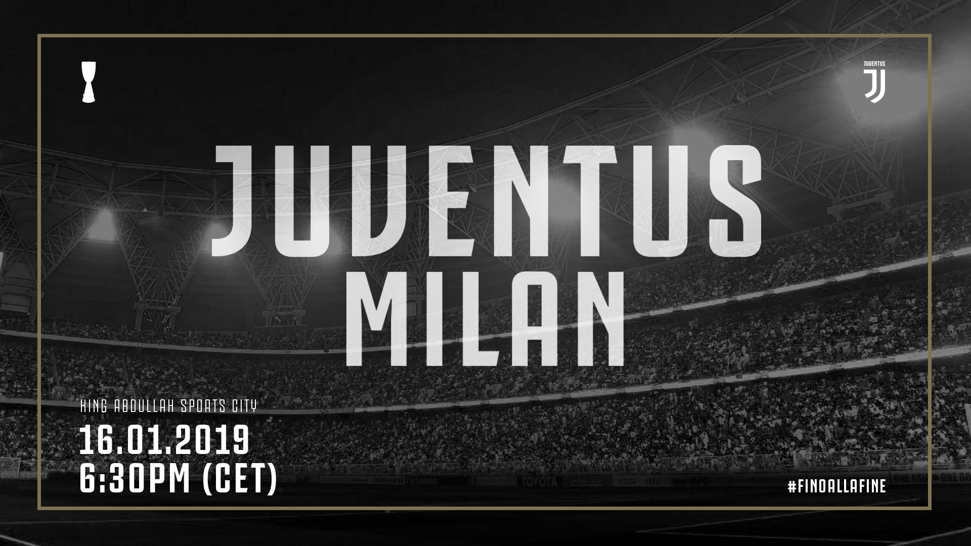 Juve Milan next chapter Italian Supercup   Juventuscom 1920x1080