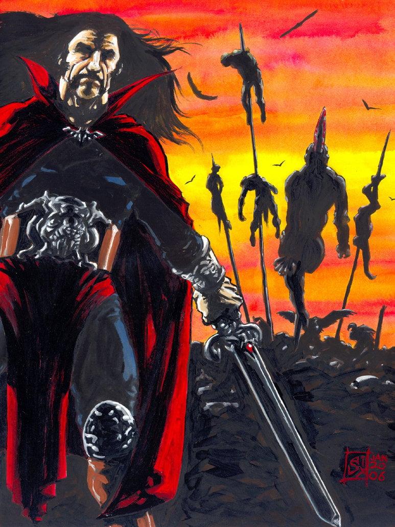 Vlad the Impaler by avix 773x1033