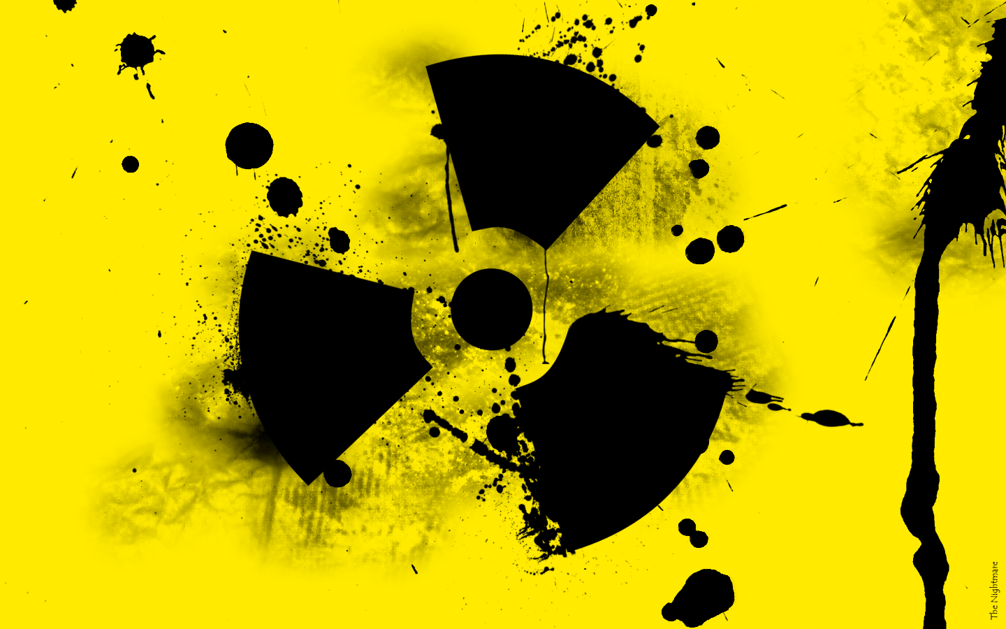Radioactive Symbol Wallpaper Wallpapersafari